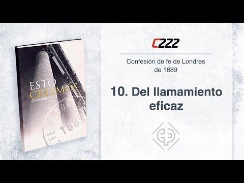 10. Del llamamiento eficaz - Javier Pérez