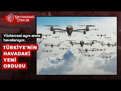 Türkiye'nin gökyüzündeki yeni ordusu: Yüzlercesi aynı anda havalanıyor