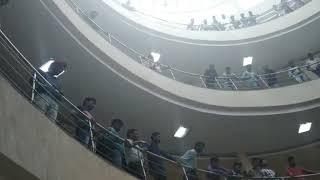 Indirect election ke virodh me library band// Kurukshetra University//election Ko lekar strike