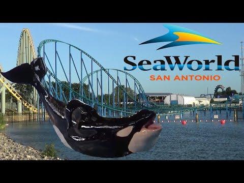 SeaWorld San Antonio Tour & Review With The Legend