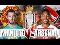 Man United vs Arsenal - Are We Really Favourites For This Game? - Preview & Predicted Line Up