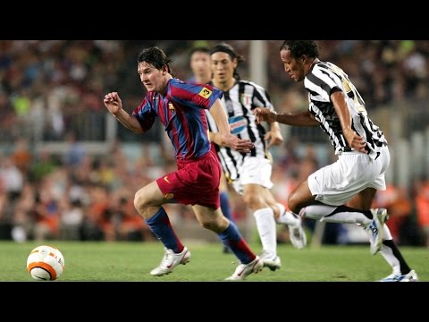 Messi's amazing performance vs Juventus (Gamper 2005)