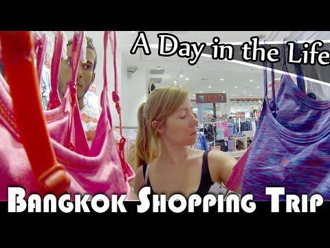 BANGKOK SHOPPING TRIP - LIVING IN THAILAND DAILY VLOG (ADITL EP261)