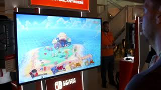 Puyo joue (mal) à Super Smash Bros. Ultimate à l'E3 2018