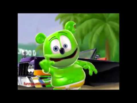 The gummy bear song but everytime gummibar says gummy it gets faster
