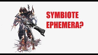 Spore Ephemera Quick Nidus Showcase/Mechanics l  Warframe The Emissary
