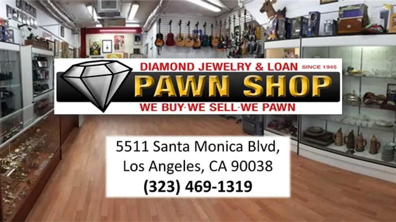 diamond jewelry loan los angeles pawn shop youtube