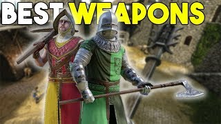 Top 10 Weapons In Mordhau!