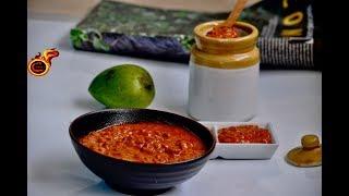 നിമിഷ നേരം കൊണ്ട്  സദ്യ മാങ്ങാ  അച്ചാർ | Instant Sadya Mango Pickle |Ep:360