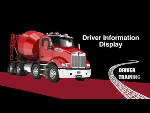 Kenworth T360 Driver Information Display