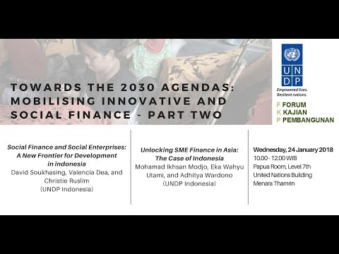 FKP 2018 01 24 - Towards the 2030 Agenda: Mobilising Innovative and Social Finance (Part Two) Part 1