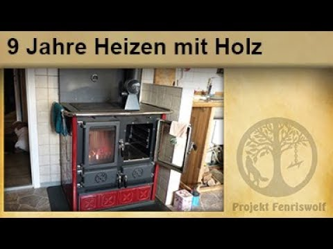 9 jahre heizen mit holz k chenhexe holzofen infrarotheizung ofenventilator youtube. Black Bedroom Furniture Sets. Home Design Ideas