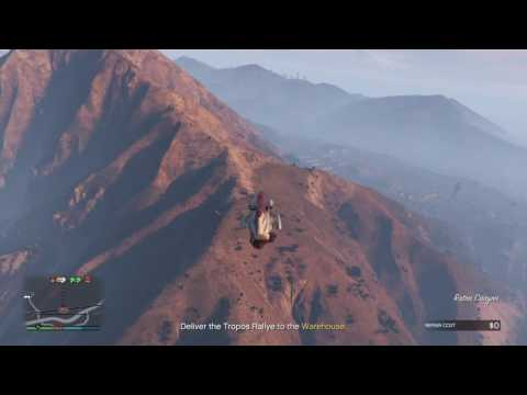 GTA 5 - Import/Export - Source - Offshore barge, outrunning Buzzards with Cargobob
