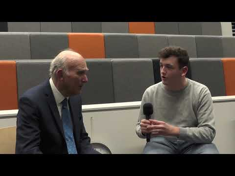 Sir Vince Cable | RAW Interviews