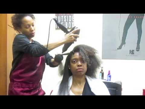 How to straighten african american hair