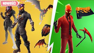 A set of lava legends and new skins! -Fortnite