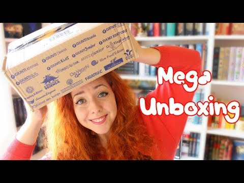 ENORME PACCO LIBROSO | UNBOXING GIUNTI 📦🎉
