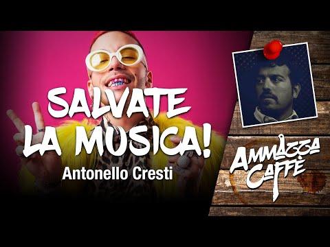 SALVATE LA MUSICA! - Ammazzacaffè con Antonello Cresti