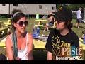 Capture de la vidéo Girl Talk - Interview - 7/9/2009 - Bonnaroo Music Festival - Manchester, Tn