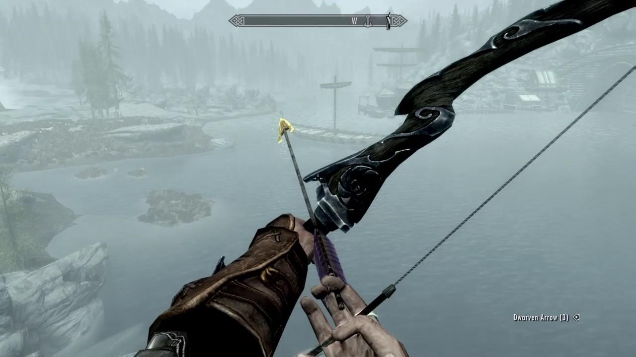 skyrim compound bow