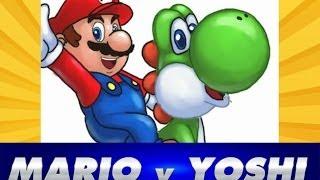 Como Dibujar a Mario Bros y Yoshi | How to Draw Mario Bros and Yoshi
