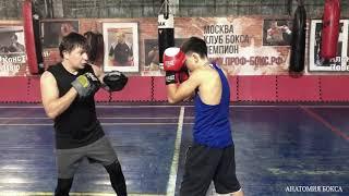 Бокс: как перебить атаку соперника.