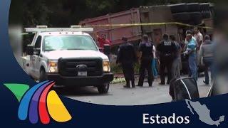 Carambola en carretera México-Tuxpan | Noticias de Hidalgo