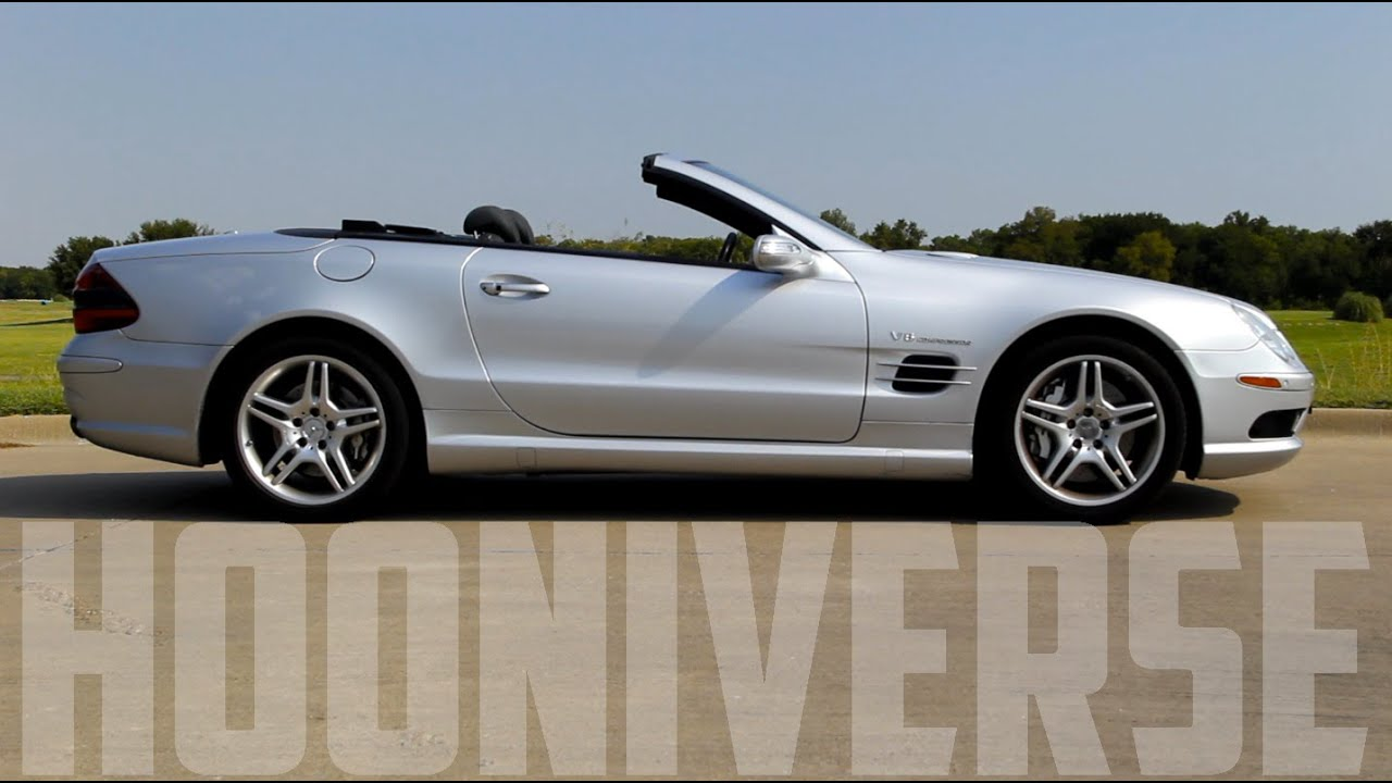 Mercedes benz sl55