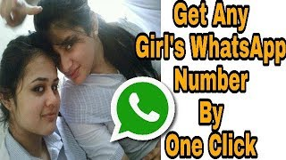 How to find beautiful girls whatsapp number near by, very easy process 100%working