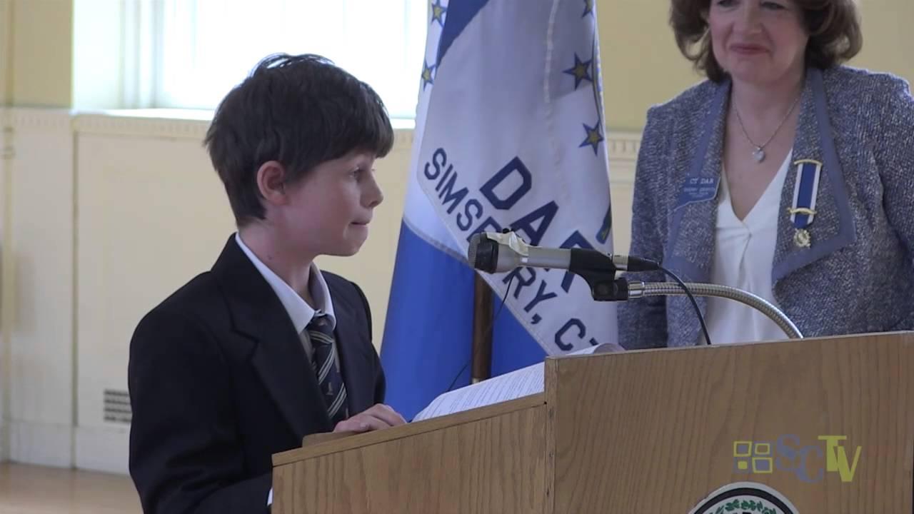 DAR honors winners of Good Citizenship, history essay awards