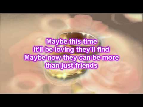 Sarah Geronimo - Maybe This Time (Lyrics)