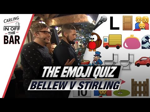 Tony Bellew V Iain Stirling | The Emoji Quiz