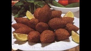 #chefAminاسهل وصفة لعمل كبة الرز . شيف امين..Reis Kibbeh Rezept