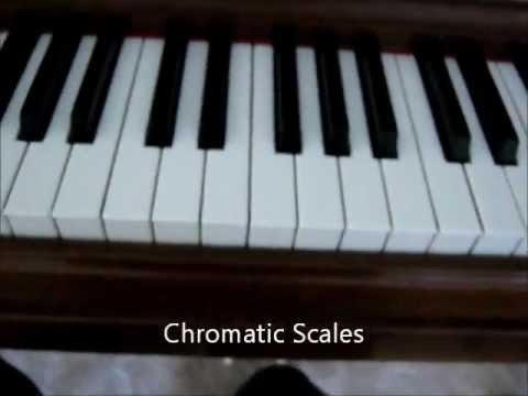 Major, Minor, and Chromatic Scales, and How to Tell the Difference