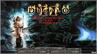 Diablo 2 Zy El  Некромант Амулет Творения  =6= [ 1 Акт ]