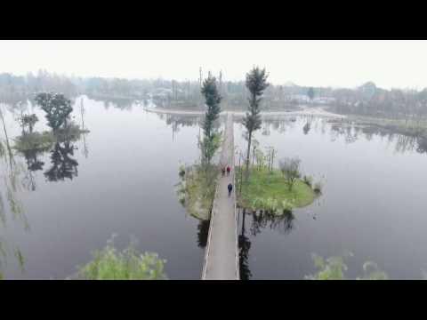 Chengdu Drone photography - Lake&Park 凤翔湖公园