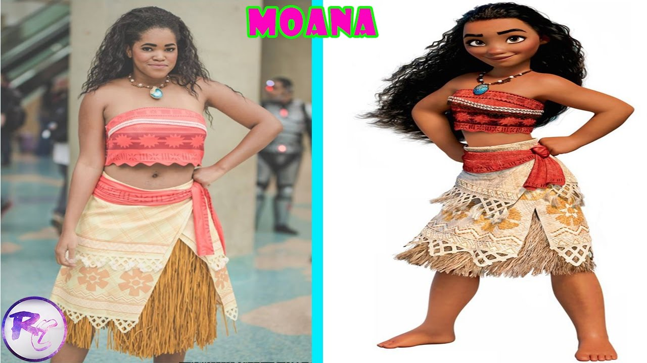 Moana Characters In Real Life Youtube