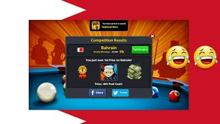 8 ball pool low winning country😂how to easily top