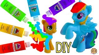 Download DIY Rainbow Dash My Little Pony - Easy MLP Custom Paint + Clay Craft Video Mp3 and Videos