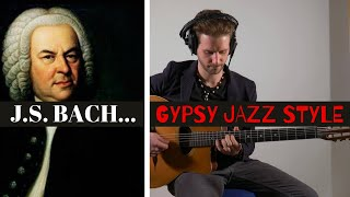 Prelude No.2 in C minor (J.S. Bach) - Gypsy Jazz Style