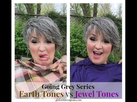 Going Grey Series What Colors Should I Wear With Silver