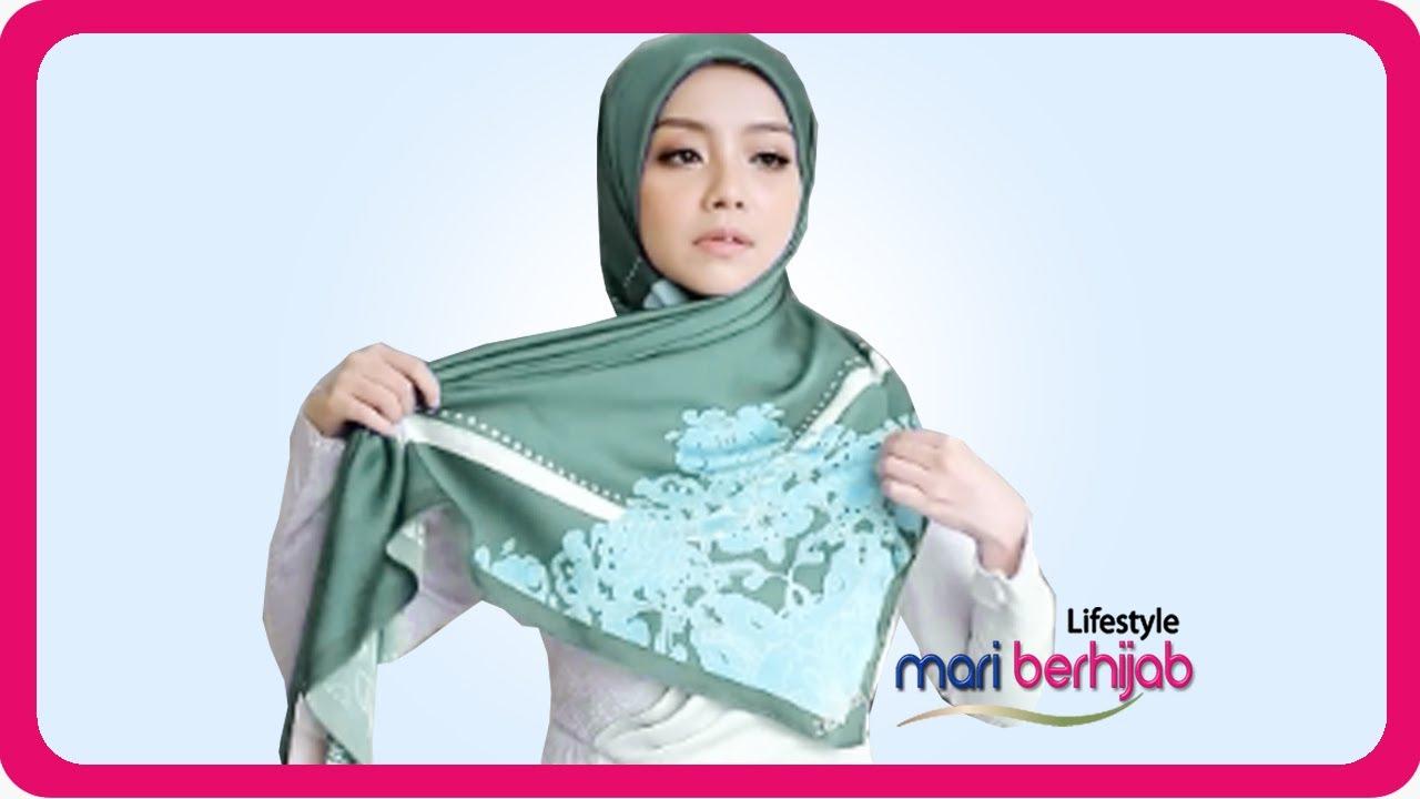 9 Tutorial Terbaru Cara Mudah Simple Pakai Hijab Segi Empat Cantik Kekinian Hijab Lebaran Youtube