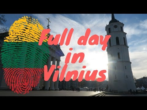 Full Day In Vilnius - Lithuania - Museum of Genocide Victims - Drone Shots - Museum of Illusions