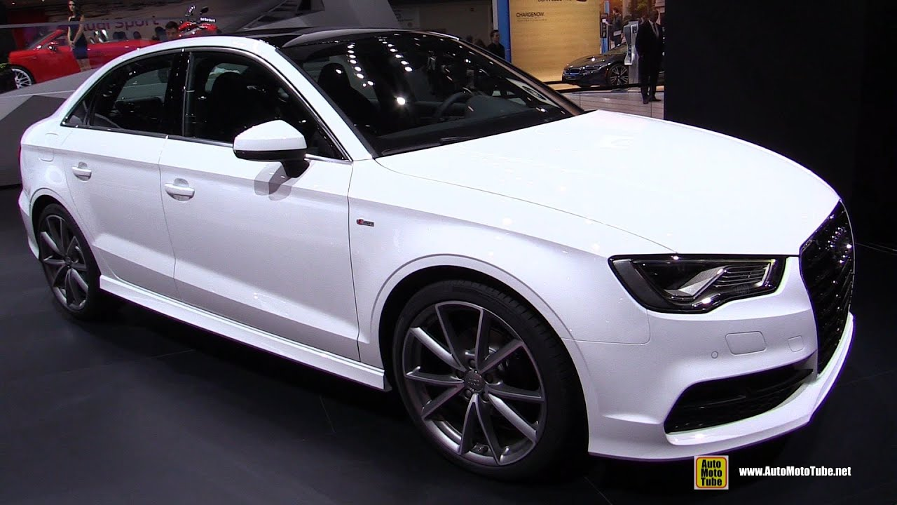2015 audi a3 tdi s line exterior and interior walkaround 2015 detroit auto show youtube. Black Bedroom Furniture Sets. Home Design Ideas