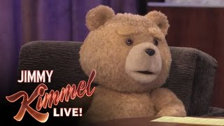 Ted on Jimmy Kimmel Live