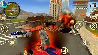 Crime Naxeex Simulator Vice - Rope Hero Vice Town | Naxeex LLC | Android Gameplay HD