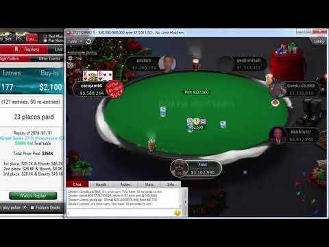 Replay | Final table PokerStars Winter Series 27-H: $2,100 NLHE 6-Max, Progressive KOJan 01, 2020