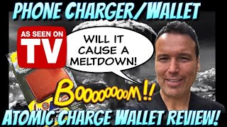 Atomic Charge Wallet  As seen on TV 2018 Review