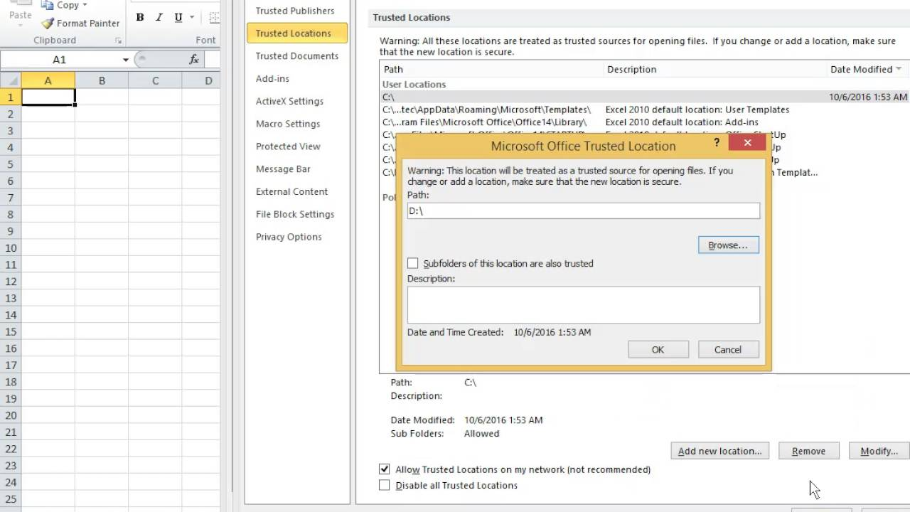 How to Solve Protected View in Ms Excel Or Word