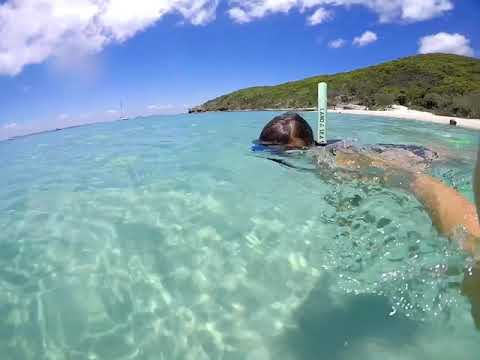 Snorkeling at Great Keppel Island, Great Barrier Reef